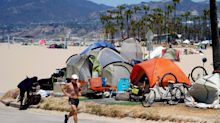 LAPD responds to viral TikTok showing heavily armed law enforcement in front of unhoused encampment on Venice Beach