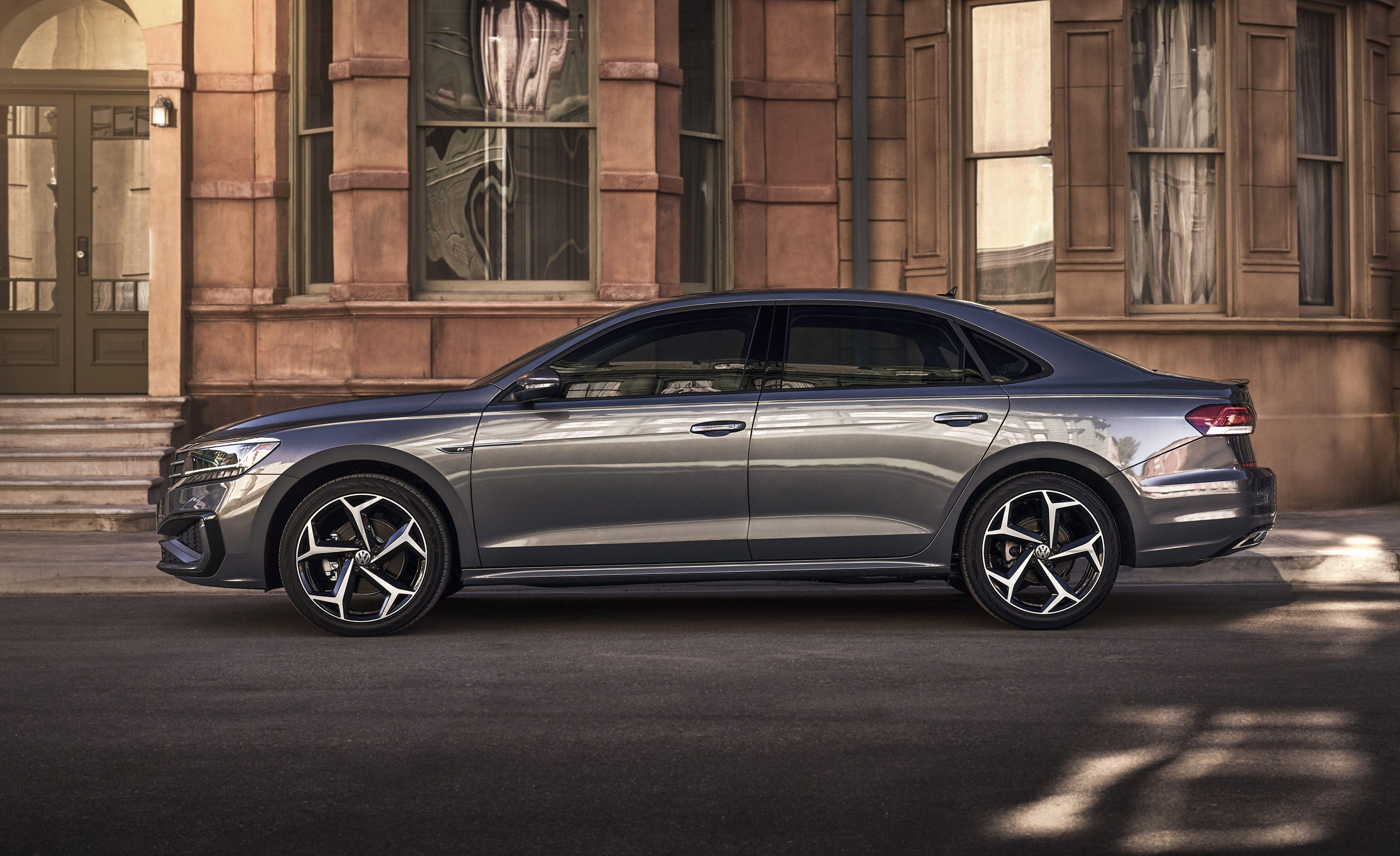 """<p>We'll keep this brief, in keeping with the brevity of the list of changes Volkswagen has made to its mid-size Passat for 2020. As Volkswagen itself puts it, """"While the 2020 Passat retains the underpinnings of the previous model, it has been completely restyled."""" Indeed, wrapped around <a href=""""https://www.caranddriver.com/volkswagen/passat"""" rel=""""nofollow noopener"""" target=""""_blank"""" data-ylk=""""slk:the outgoing Passat"""" class=""""link rapid-noclick-resp"""">the outgoing Passat</a>'s body structure, chassis, engine, and transmission is fresh sheetmetal. Peer through the windows, and you'll notice the interior is slightly newified, too.</p>"""