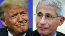 Trump slams govt Covid expert Fauci 'and all these idiots'