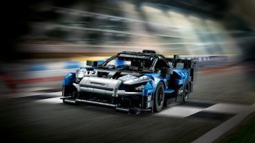 買得起的頂級限量賽道超跑!LEGO TECHNIC系列打造McLaren Senna GTR積木模型!