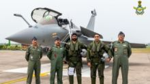 Rafale Jets Arrive in India, Chief of Air Staff Welcomes Pilots