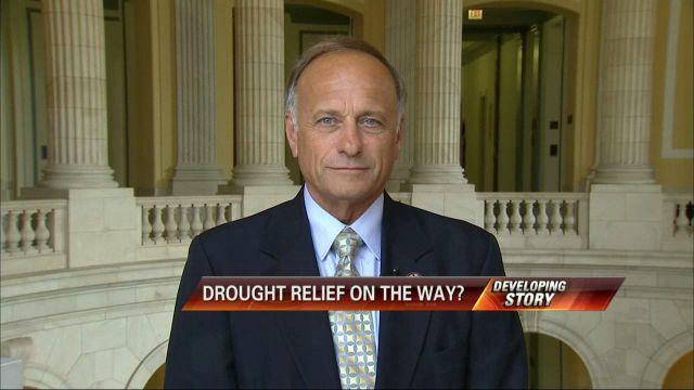 Rep. Steve King on the Farm Bill, Drought