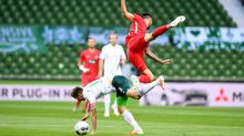 Bremen's survival bid goes to the wire after goalless first leg