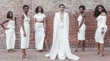 Bride Re-creates Solange's All-White Wedding