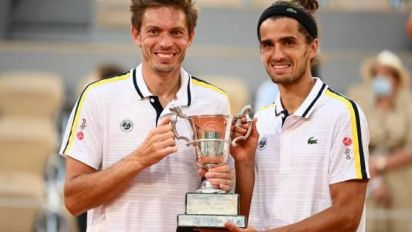 Roland-Garros (DH) - Pierre-Hugues Herbert (vainqueur du double masculin à Roland-Garros): «On a su faire qu'un» avec Nicolas Mahut