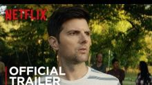 Adam Scott's stepson is literally the Antichrist in the trailer for 'Little Evil'