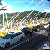 汀九橋兩交通意外涉9車相撞 出九龍一度塞爆