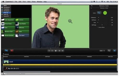 Camtasia for Mac 2.2 update adds new effects, interactivity