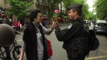 Paris: Rally in support of police after Champs Elysees killing