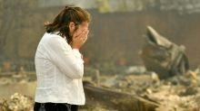 Incêndio na Califórnia transforma bairro em cinzas