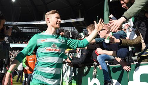 Bundesliga: Bremens Derbyheld Florian Kainz