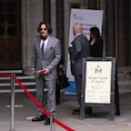 Johnny Depp and Amber Heard arrive at the High Court as libel hearing continues
