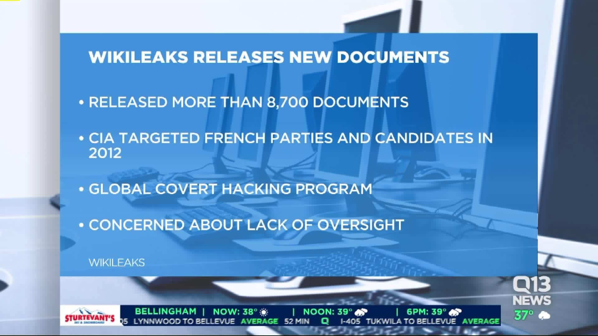 Wikileaks Claims to Release Thousands of CIA Documents [Video]