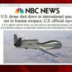 US drone shot down by Iran, US officials say