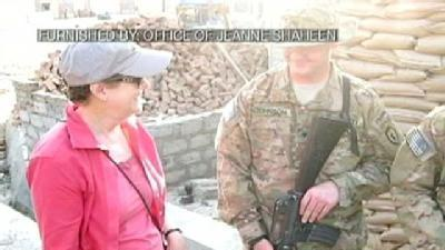 Shaheen Meets With Soldiers In Afghanistan