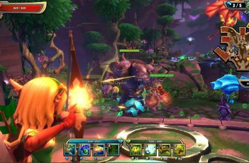 Send in the first screens for Dungeon Defenders 2