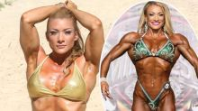 Bodybuilder hits back after being 'sneered' at over her muscles