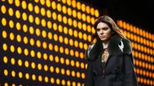 Kendall Jenner Opens For Fendi At Milan Fashion Week
