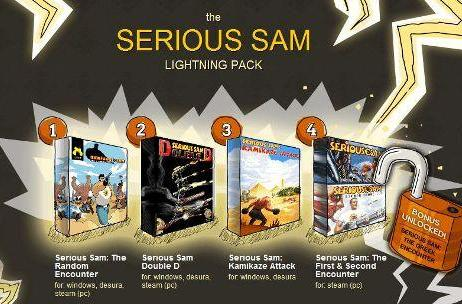 Indie Royale presents the Serious Sam lightning deal