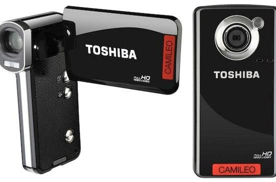 Toshiba's Camileo P100 and B10 continue their world tour, arrive stateside