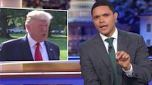 Trevor Noah Dismantles Trump's Faux Concern About All The Supremacies