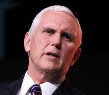 Watch Mike Pence gasp when no one claps at his terrible applause line