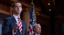 GOP Sen. Tom Cotton argues America's founders believed slavery to be a 'necessary evil'