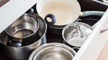These clever felt protectors can prevent your pots and pans getting scratched