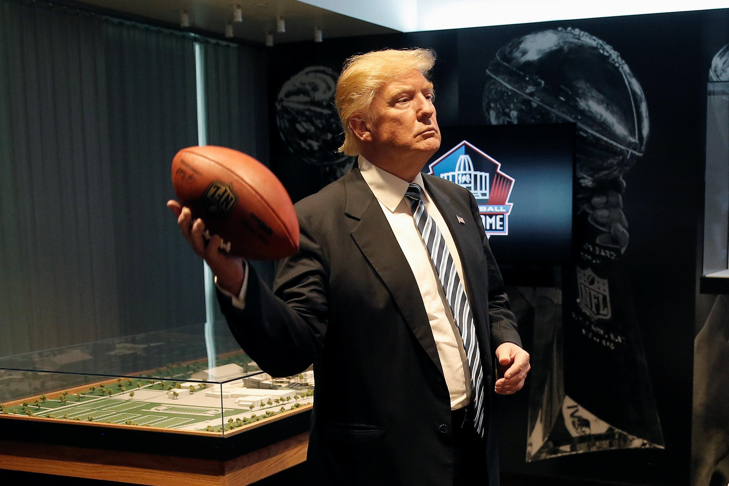 c9677cff2 Trump vs the NFL dates back to 1986