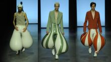 Internet enloquece con estos pantalones inflables de látex