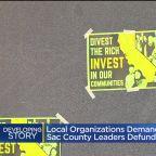 Local Organizations Demand Sacramento County Leaders Defund Police