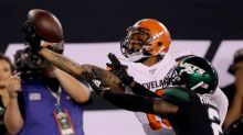 Beckham turns back clock as Browns rout ailing Jets