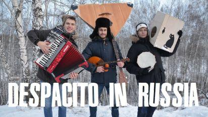 Desde Rusia con amor: una versión bajo cero de 'Despacito' causa sensación