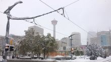 Photos: Calgary digs out from October snowstorm