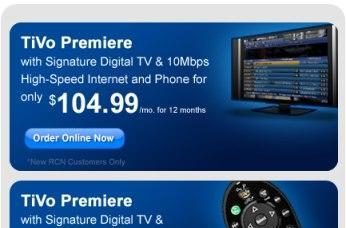 RCN ready to ship TiVo Premiere DVRs in D.C.