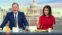 Susanna Reid Accuses Piers Morgan Of Being 'Obsessed' With Harry And Meghan In Heated Row