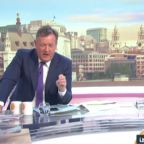 Coronavirus: Piers Morgan tells shocked Susanna Reid his son has Covid-19 symptoms