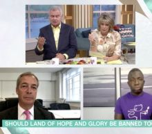 This Morning's Eamonn Holmes condemned for asking Femi Oluwole if he has an 'issue' with the word 'slave' during 'Rule Britannia' debate