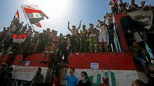 """Des milliers d'Irakiens défilent pour le 1er anniversaire de leur """"révolution"""""""