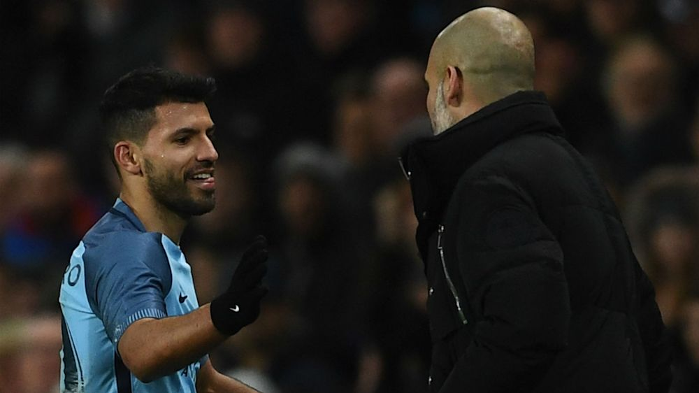 Now he understands - Guardiola salutes Aguero's reaction to being dropped