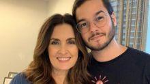"""Túlio Gadêlha se declara e Fátima Bernardes diz: """"Fiquei com vergonha"""""""