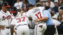 Braves rookie lands on DL after pregame ritual goes wrong