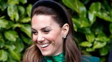 Duchess of Cambridge wears £69 padded velvet headband: Shop similar styles