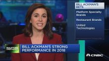 Bill Ackman's hedge fund gains again after years of losse...