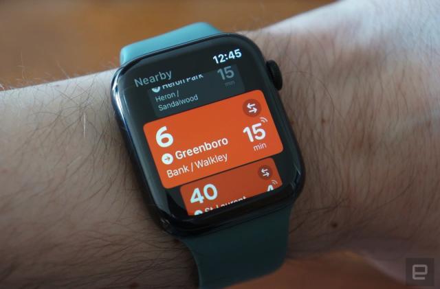 Transit's Apple Watch app returns after two-year hiatus