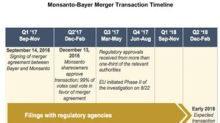 Bayer-Monsanto Deal Receives European Union Approval