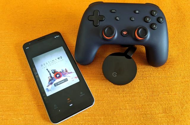 Google is working on a way for your phone to control Stadia games on a TV