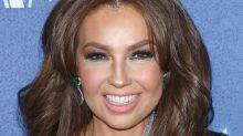 ¿Thalía se hizo algo en el rostro?; mira estas fotos