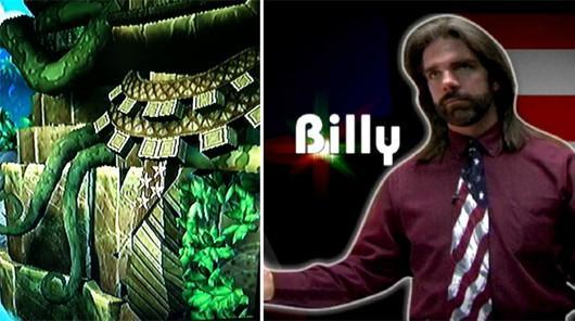 Billy Mitchell's tie makes cameo in Donkey Kong Country Returns