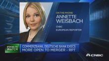 Commerzbank reportedly open to a Deutsche Bank merger